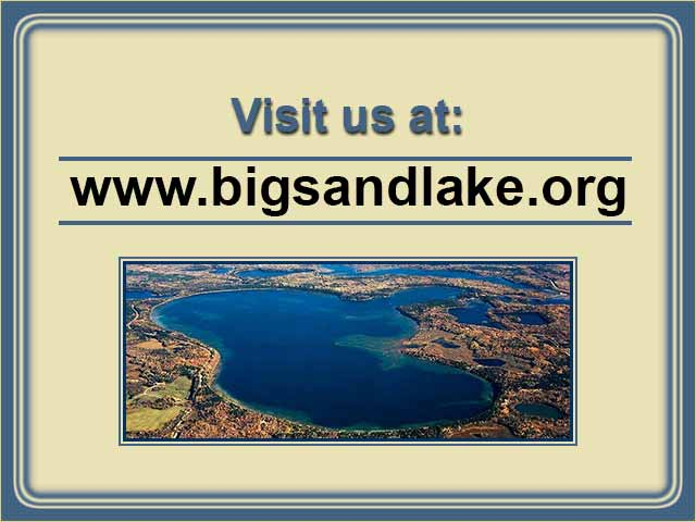 Big Sand Lake webcam image